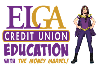 ELGA Credit Union Education with the Money Marvel